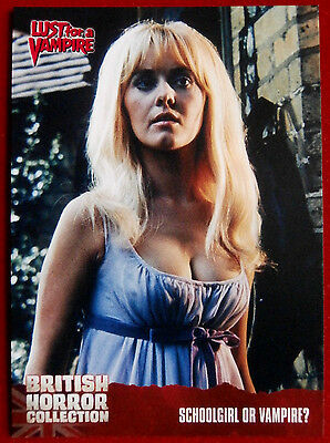 BRITISH HORROR COLLECTION - SUSANNAH LEIGH - Lust for a Vampire Card #69
