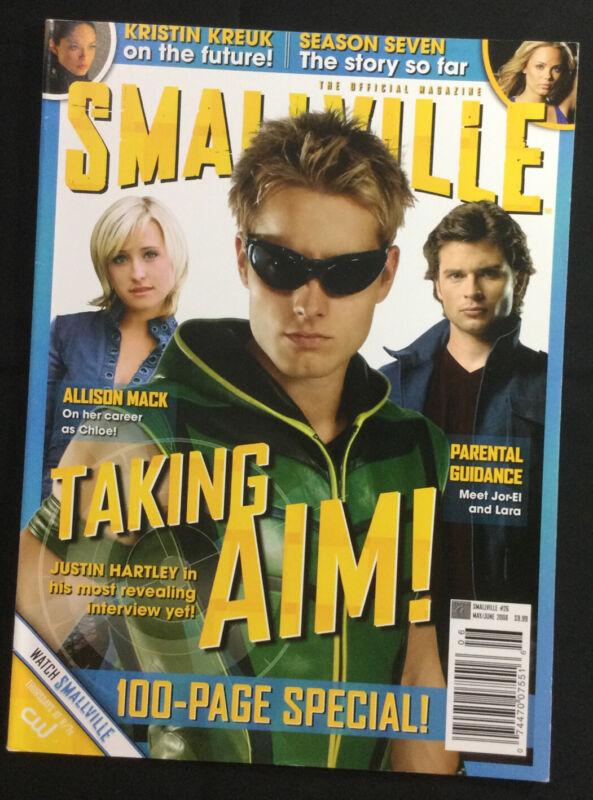 Smallville Magazine #26 May/Jun 2008 100 Page Special Justin Hartley, Season 7