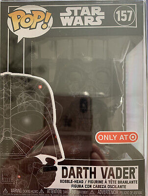 Funko POP Star Wars Darth Vader With Protector Hard Stack Target Exclusive 157