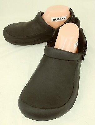 Crocs 15010 Shoes Slingbacks Womens US 10 Mens US 8 Black Work Clogs 4505
