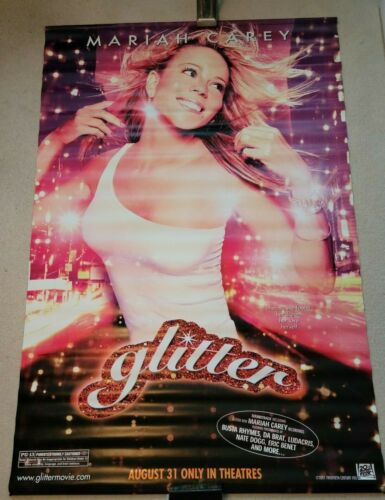 MARIAH CAREY GLITTER Movie Promo Vinyl BANNER POSTER 6