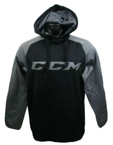 CCM Hockey Senior/Adult Black/Dark Grey TECH HOODY