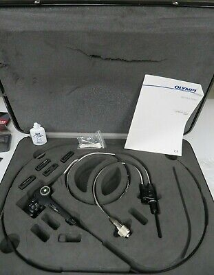 Olympus Iv8c6-50 Video Industrial Fiberscope W Case And Accessories - Np18