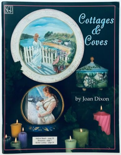 Cottages & Coves by Joan Dixon Decorative Tole Painting Pattern Book