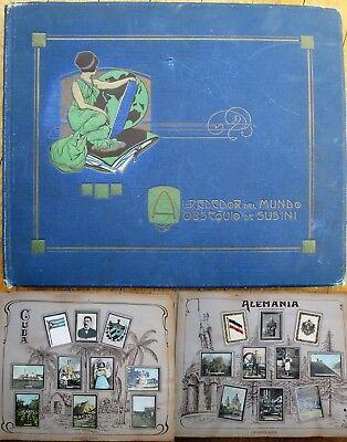 Susini Tobacco Card 1915 Art Nouveau Cuba Album - 46 Pages/460 Cards - COMPLETE