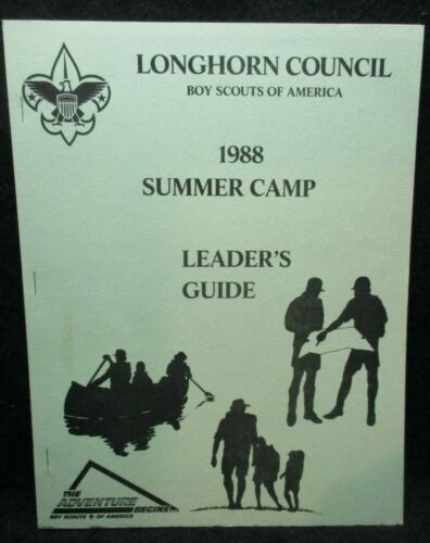 Boy Scouts of America Longhorn Council 1988 Summer Camp Leader