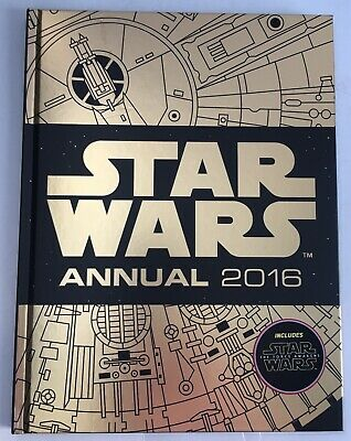 Star Wars Annual 2016 Egmont Hardback Book Disney Lucasfilm Licensed - New