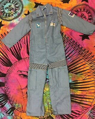 VTG 1960's NASA Kennedy Space Center Astronaut Children's Suit Costume Youth