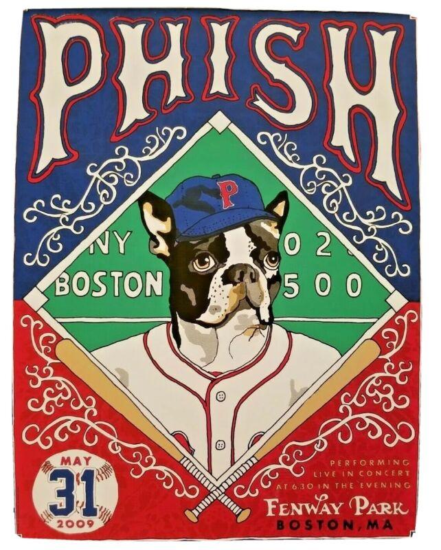 Phish Fenway Park Boston 2009 Boston Boxer PRINT - MINT
