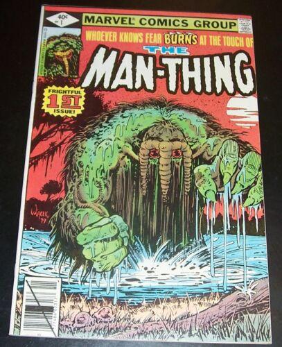 VF: The MAN-THING # 1 Origin Retold, Marvel, 1979, Bag&Board