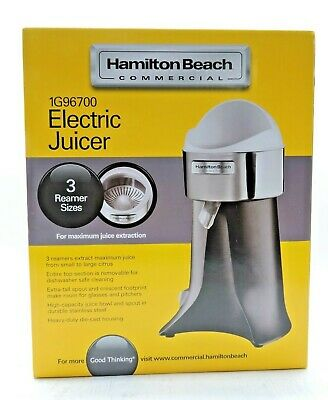 Hamilton Beach Commercial Citrus Juicer Electric 1 Juicer 220v International