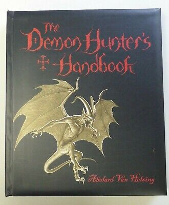 THE DEMON HUNTER'S HANDBOOK Hardcover 2006 Pavilion Books Occult Horror for sale  Shipping to India