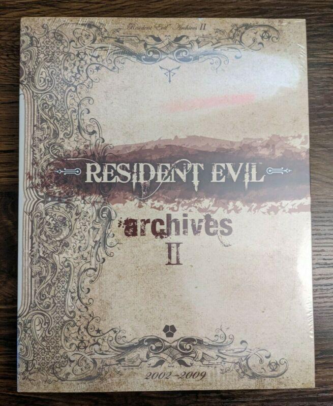 Resident Evil Archives Vol. I & II (1 & 2) Books Rare BradyGames Capcom SEALED!!