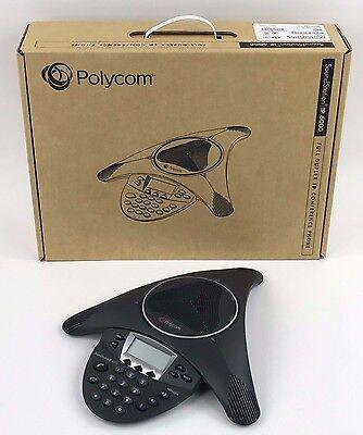 Polycom Soundstation Ip6000 2200-15600-001 Sip Conference Phone Poe - New Bulk