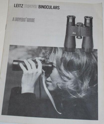 VINTAGE 1970s LEITZ BINOCULAR BUYERS