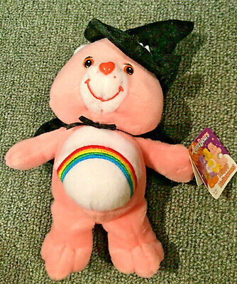 Care Bears Special Edition HAPPY HALLOWEEN pink Cheer - Care Bears Halloween