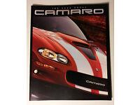 Camaro SS 35th Anniversary Camaro History /'67-/'02 2 sided Poster