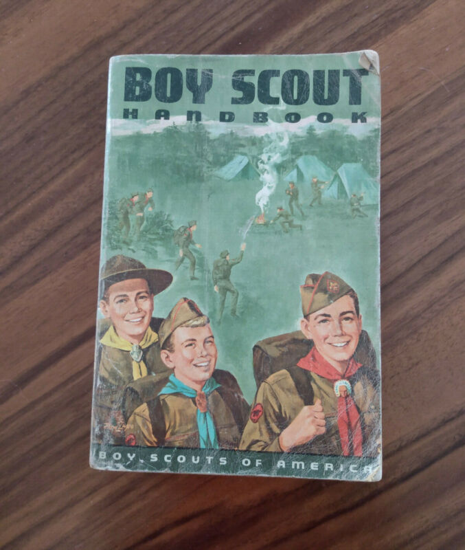 1968 Boy Scout Handbook Vintage Boy Scouts of America BSA 4th Printing
