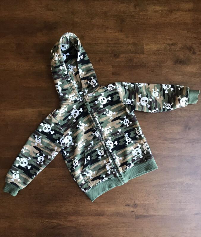 Falls Creek Kids Toddler Boy Camo Hoodie w/Zipper - Size 2T