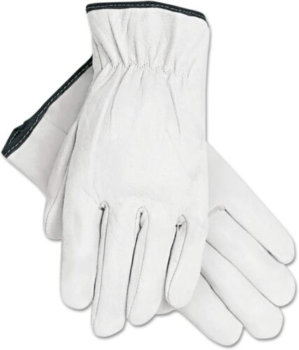 Heavy Duty Premium Cowhide Leather Work Safety Gloves PPE S/M/L/XL 3,6or12 Pairs