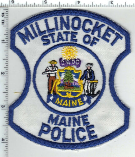Millinocket Police (Maine) Shoulder Patch - new from the Early 1980