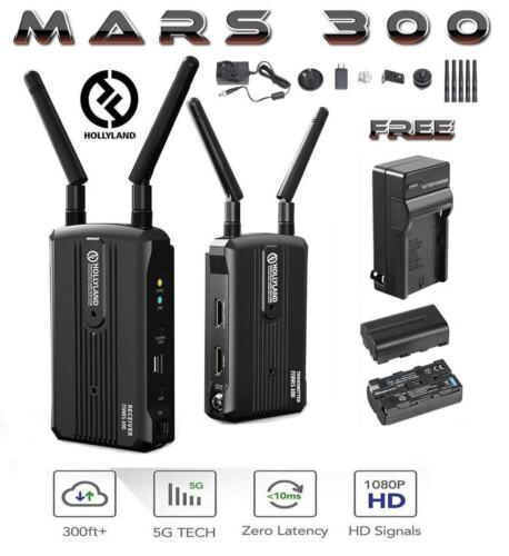 Hollyland Mars 300 300FT HDMI Wireless HD Video Transmission TX & RX Dual 1080P