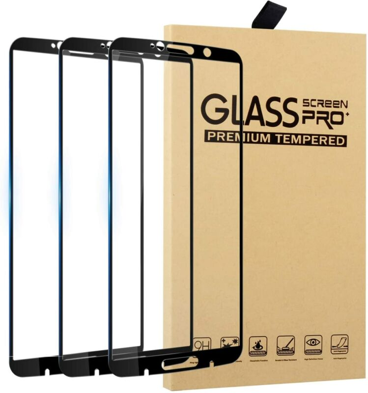3Pack 9H For Motorola Moto Z3 Play Screen Protector XT1929-1/4/5 Tempered Glass