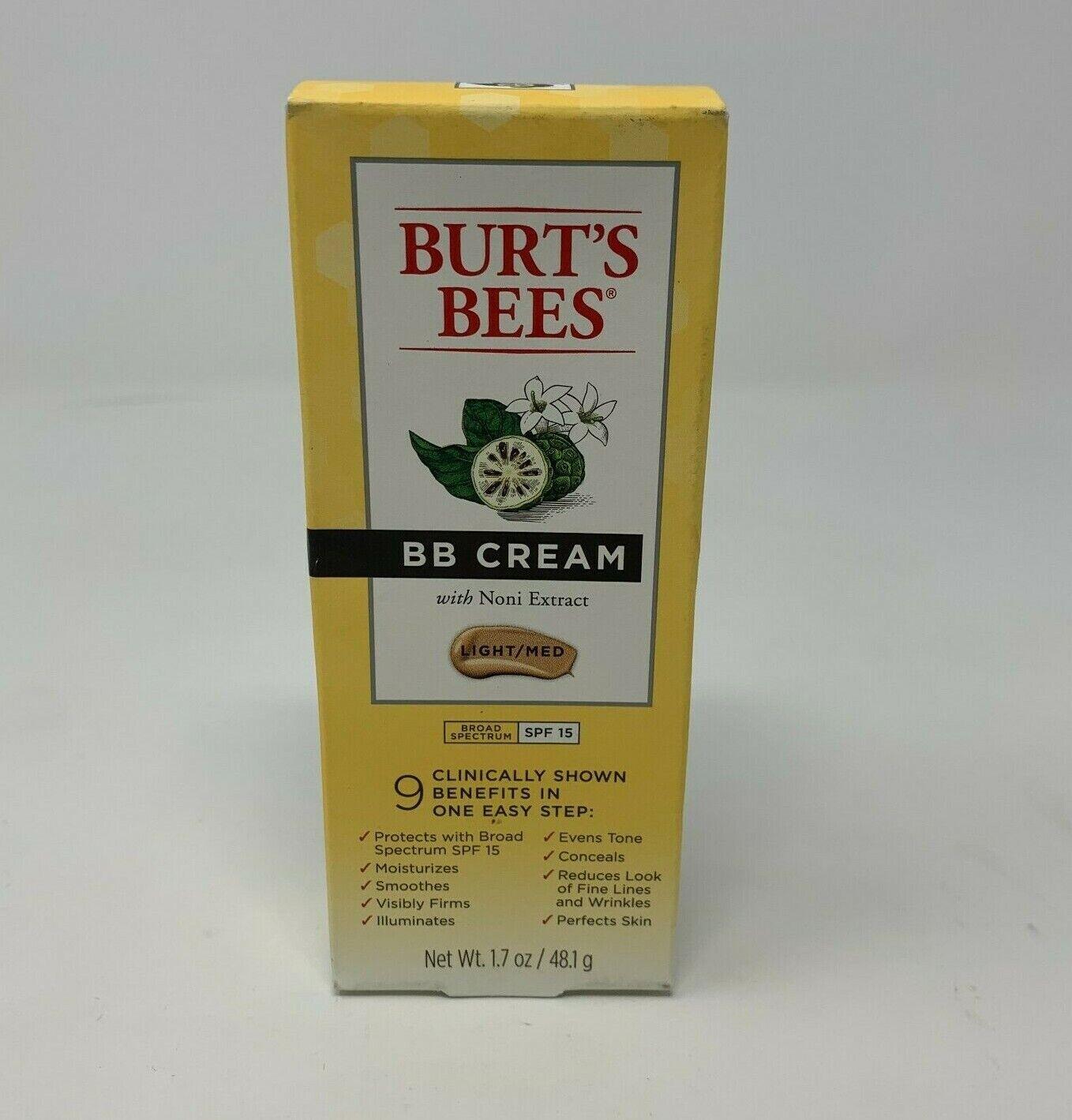 BB Cream Light/Medium SPF 15 Burt's Bees 1.7 oz Cream