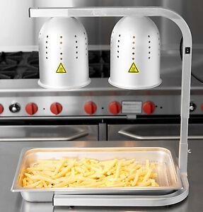 aluminum heat lamp food warmer 2 bulb free standing buffet commercial. Black Bedroom Furniture Sets. Home Design Ideas