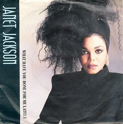 """7"""" Vinyl Single - Janet Jackson - What have you done for me lately 1986 (EXC)"""