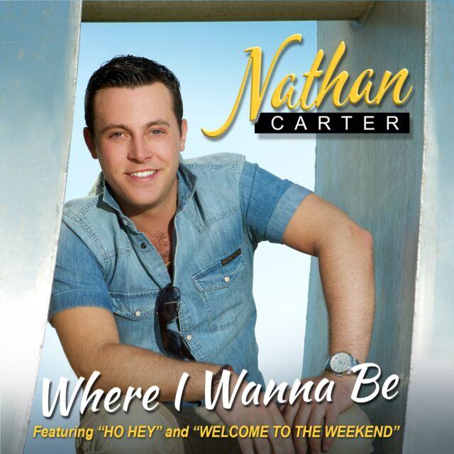 NATHAN CARTER - WHERE I WANNA BE CD ALBUM (2013)