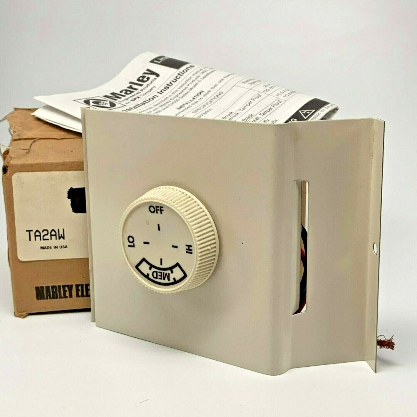 Marley TA2AW Qmark Electric Baseboard Heater Accessory Doubl