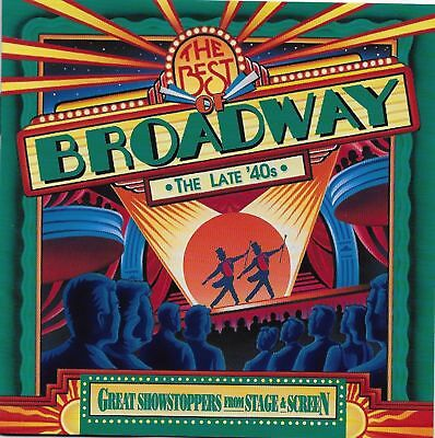 (CD) Best of Broadway Late '40s -  Great Showstoppers Stage & Screen [Time