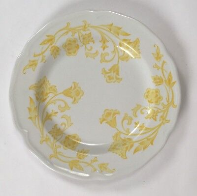 J & G Meakin Royal Staffordshire Ironstone Yellow Windsong Dessert Plate Vintage for sale  Vacaville