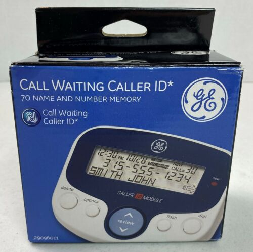 GE General Electric Caller ID 70 Name Memory Large Display 29096GE1 New #21D