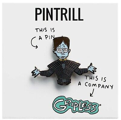 PINTRILL X GRIPLESS - Dwight Schrute Halloween Pin The Office Zombie