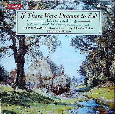 VARCOE - HICKOX Englische Orchesterlieder - NM- - Chandos ABRD 1382