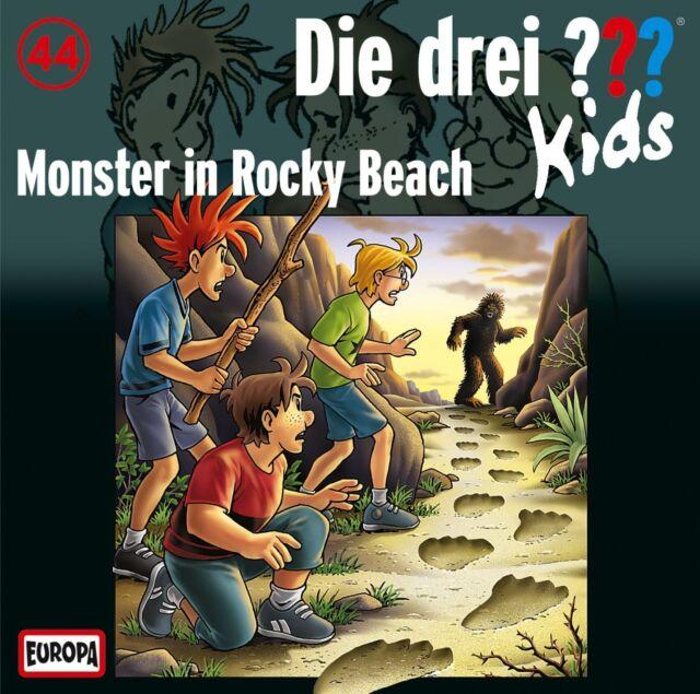 DIE DREI ??? KIDS - 044: MONSTER IN ROCKY BEACH  CD NEU