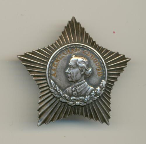 Soviet Russian USSR Order of Suvorov 3rd Class High Quality Replica