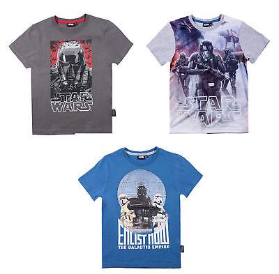 Star Wars Kinder kurzarm T-Shirt Gr. 116-152 Pullover Shirt kurzarm (Star Wars Kinder T Shirts)