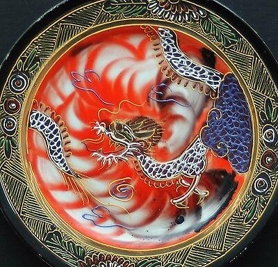 "Älterer Chinesischer Porzellan Teller "" Drachenmotiv "" !! Nr.17"