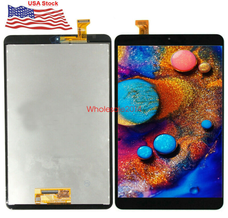 LCD SCREEN+TOUCH Digitizer GLASS For Samsung Tab A 8.0 2018 SMT387 SM-T387V US