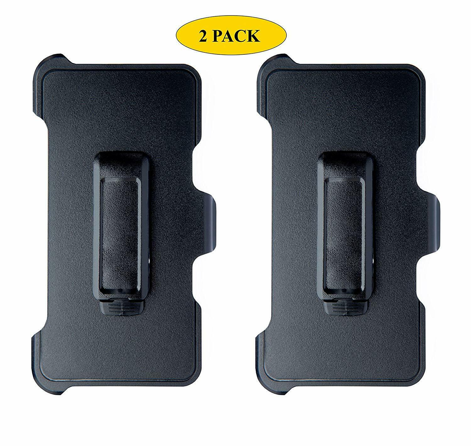 2-Pack Belt Clip Replacement Holster Compatible Otterbox Defender Series iPhone Cases, Covers & Skins