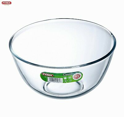 Pyrex Round Glass Bowl  3L Serveware Kitchen New