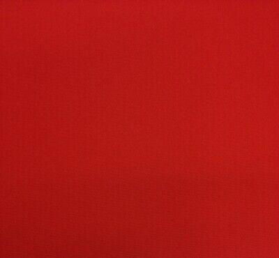 SUNBRELLA 5403 CANVAS JOCKEY RED OUTDOOR FURNITURE CUSHION FABRIC BY YARD 54 W - $18.95