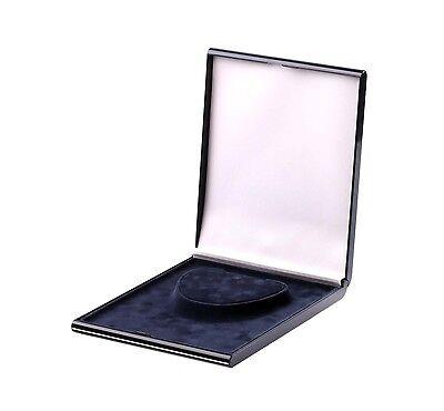 10x Etui Halsketten Aufbewahrung Samt Display Collier Präsentation Schmuck Blau