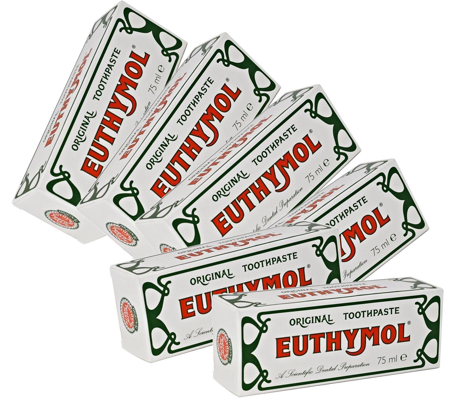 euthymol original toothpaste waitrose amp partners - HD1584×1419