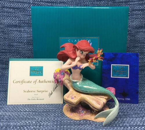 WDCC Disney Classics Seahorse Surprise Ariel Little Mermaid Exc in Box with COA