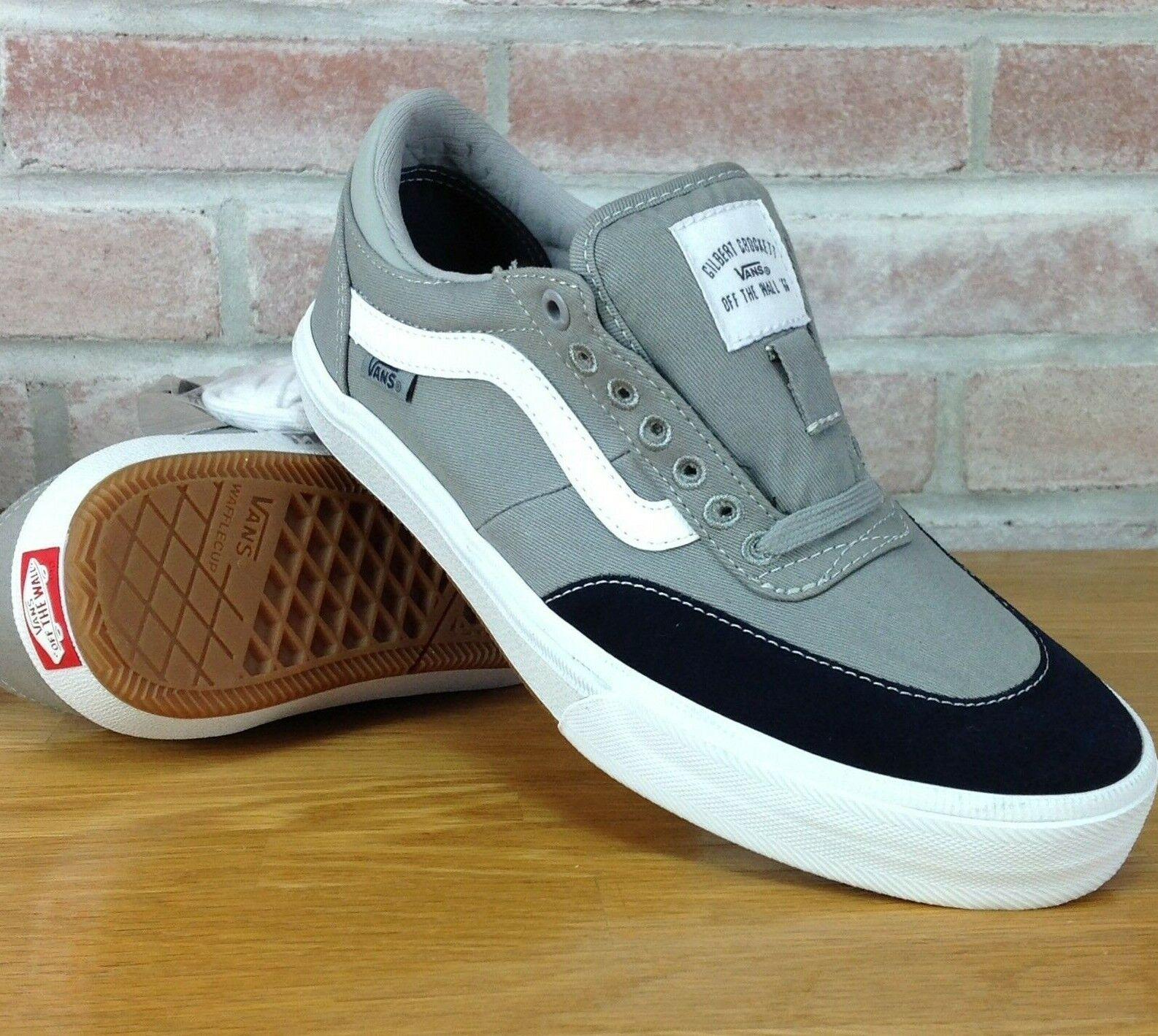 Vans Gilbert Crockett Skate Shoes Mens Sz 7 5 Gray Blue