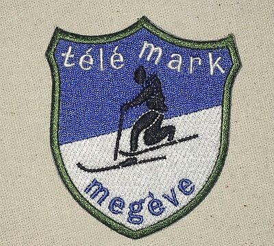 Télémark Megève Patch - France - Skiing